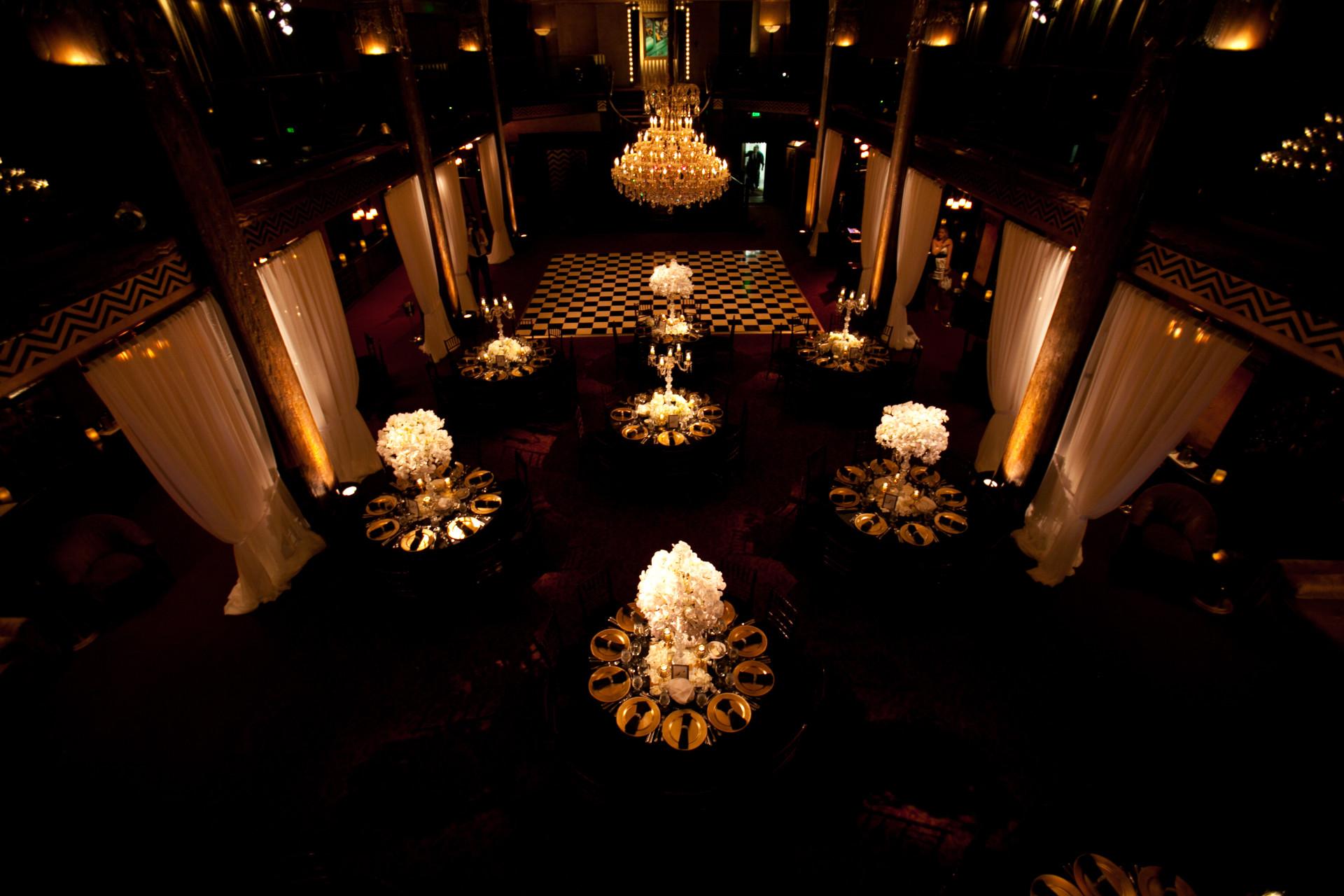 Cicada Restaurant Wedding Los Angeles