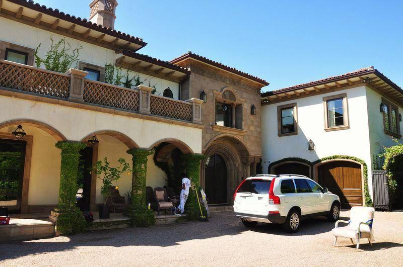 Ballroom Private Wedding Estates in Los Angeles located in Bel Air