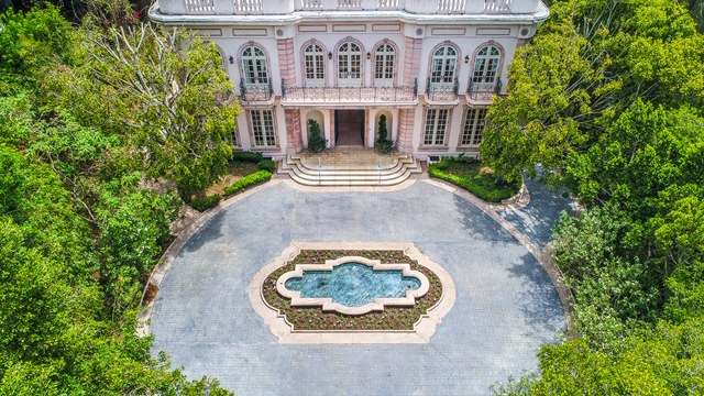 French Chateau Event Rental Estate Southern California