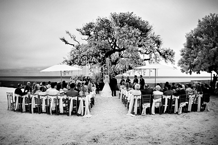 Glam Hollywood inspired wedding private estate